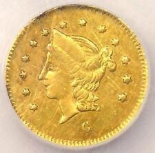 New listing 1868 Round Liberty 50C California Gold Half Dollar Bg-1019. Ngc Au. Rarity-5 R5