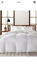 Brand NewHotel Collection European Goose Down Light Weight Full/ Queen Comforter