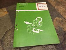 1982 1983 Volvo 760 GLE Electrical Wiring Diagrams Service Manual Wagon & Sedan