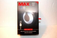 MAX Smart Home Safety Night Light With USB Charger - MAX-NL-S1a - NEW IN BOX