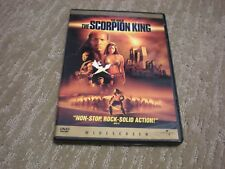 The Scorpion King DVD (2002) Widescreen Edition