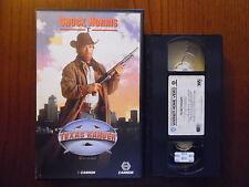 Texas ranger (Chuck Norris, Clarence Gilyard, Gailard Sartain) - VHS ed. Warner