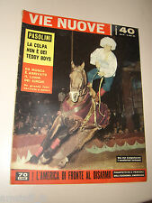 VIE NUOVE=1959/40=CIRCO DI MOSCA=PIER PAOLO PASOLINI=ENRICO DE NICOLA=LEIGH V.