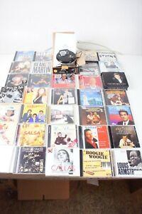 DMC 7530 CMX CD MP3 Player Discman mit ca. 33 CDs Konvolut Pro-1555