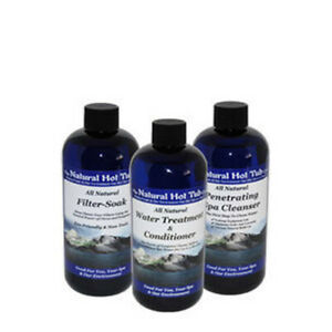 The Natural Hot Tub Company   all natural start up kit spa treatment it's the na