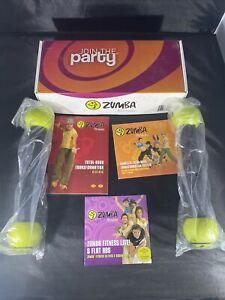 Zumba Fitness Total Body Transformation System DVD Set One CD Still Sealed