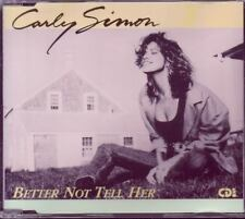 CARLY SIMON Better Not Tell Her 1990 GERMANY CD  MAXI