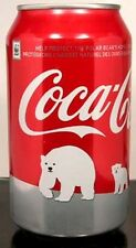 "MT UNOPEN Canadian Coke ""Red"" Coca-Cola Save Polar Bear Issue 2011 CANADA French"