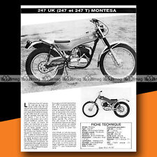 ★ MONTESA COTA 247 TRIAL ★ 1976 Essai Moto / Original Road Test #a142
