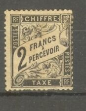 "FRANCE STAMP TIMBRE TAXE N° 23 "" TYPE DUVAL 2F NOIR "" NEUF x A VOIR"