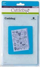 CUTTLEBUG embossing folder 5 x 7 - SPARKLE - 2001222 REDUCED