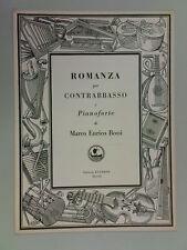 euterpe MARCO ENRICO BOSSI romanza / double bass