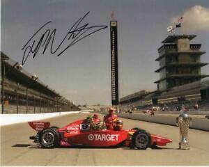 Juan Montoya autographed 2000 Indy 500 Winner 8x10 photo