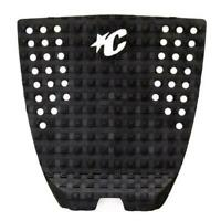 ICON 1- Traction Pad - Surfboard / Longboard Surfing Grip In Black - One Piece