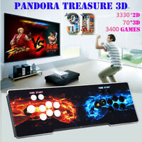 3400 in 1 Pandora-s Games 3D 2D Arcade Video Gaming Game For Laptop TV Desktop