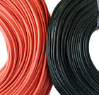 Flexible Soft Silicone Wire Cable 10/12/14/16/18/2022 AWG Red Black High Quality