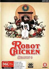 ROBOT CHICKEN season 9 (Region 2 UK Compatible) DVD The Complete Series Nine