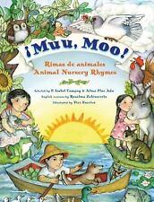 Muu, Moo!: Rimas de animalesAnimal Nursery Rhymes (Spanish Edition)-ExLibrary