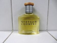STETSON COUNTRY AFTERSHAVE FOR MEN 1.0 OZ *NEW NO BOX* (BUYER GETS 3)