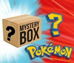 POKEMON CARD MYSTERY BOX!!!  CHANCE AT $$$ CARD. READ DESCRIPTION!!!!