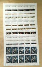 SPECIAL LOT Bhutan 1987 607-18 - Chagall 100th Ann - 10 Sets of 12v - MNH Sheets