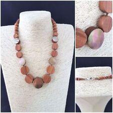 Wooden Costume Necklaces & Pendants 46 - 50 Length (cm)