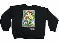 Legend of Zelda Windwaker HD Stained Glass Young Link Crew Pullover Hot Topic
