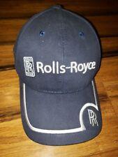 Rolls Royce blue logo embroidered back stamp on clasp rare adjustable strap