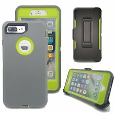 Apple iPhone 7/8 PLUS Defender Shock Absorb Case Screen & Holster Fit Otterbox