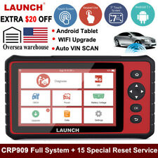 LAUNCH CRP909 OBD2 Full System Auto Diagnostic Scanner IMMO Service Key Coding