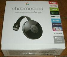 NEW SEALED Google Chromecast Digital HD Media Streamer 2ND GEN - QWIK SHIP