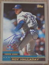 Roy Halladay 2000 Topps #186 Signed Card PSA DNA Blue Jays