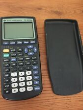 Texas Instruments Ti-83 Plus Graphing Calculator. Works Great, New Batteries