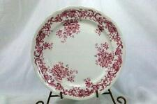Villeroy And Boch Valeria Red Luncheon Plate Green Backstamp
