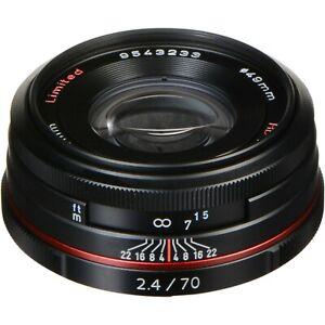 Pentax HD Pentax DA 70mm f/2.4 Limited Lens (Black)