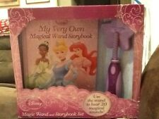 Brand new Disney Princess Magic Wand and Storybook Set