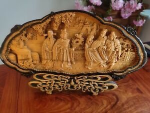 Chinese handmade wood carving
