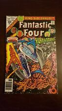 """Fantastic Four King-Size Annual #12  """"Fury In The Stars!""""  FN+ INHUMANS 1977"""