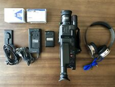 Sony CCD-F35 Handycam Video 8 Camera + Sol Republic HD V10 Headphones With Mic