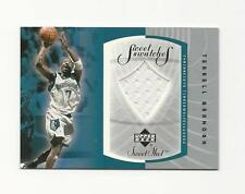 Terrell Brandon 2002-03 UD Sweet Shot Sweet Swatches Game Worn Shorts Card,#TB-S
