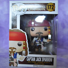 FUNKO POP PIRATES OF CARIBBEAN Captain Jack Sparrow #172 NIB~USA SELLER~BOX#2