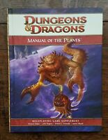 Manual of the Planes D&D 4E 4th Edition Sourcebook RPG Supplement WoTC 2008