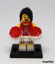 Lego 8833 Minifigur Minifig Serie 08 #13 Rote Cheerleaderin