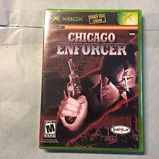 CHICAGO ENFORCER: XBOX & XBox 360 (Sealed, 3pics) =NEW