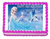 Frozen Cake Topper Ebay