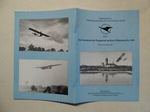 Luftfahrtgeschichte Sachsen-Anhalt Nr.6 Flugsport im Kreis Wittenberg bis 1945
