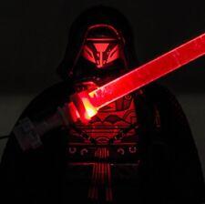 Custom Bricks minifigure Darth Revan Sith Lord Star Wars HandMade LED Lightsaber