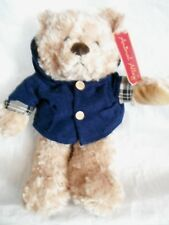 Animal Alley - Light Brown Teddy Bear with hoodie - tags - plush