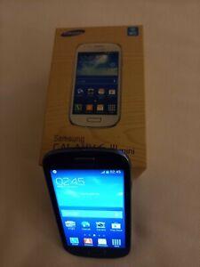 Samsung Galaxy S III Mini GT-I8190 - 8GB - Pebble Blue (Virgin Mobile)