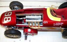 Racer Vintage Indy Race Car 1960s Sport Midget Sprint F 1 Metal Carousel Red 18